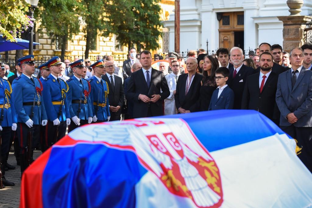 General Đorđe Stratimirović posle 113 godina sahranjen u Sremskim Karlovcima